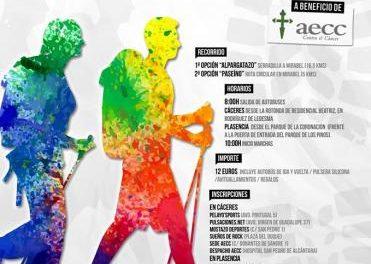La V Marcha Solidaria Alpargatazo contra el cáncer se celebrará el 9 de octubre en  Serradilla y Mirabel