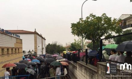 El casting de Juego de Tronos arranca en Malpartida bajo una intensa lluvia y con éxito de público