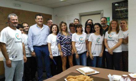 El alcalde de Coria valora positivamente los primeros meses de vida de la Lanzadera de Empleo