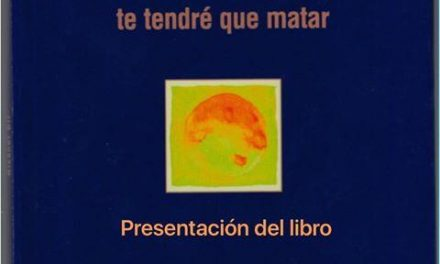 """El club de lectura de Moraleja acogerá la presentación del libro """"Te tendré que matar"""" del extremeño Nicanor Gil"""
