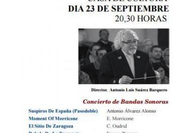 Coria dará comienzo al Otoño Cultural este viernes con el concierto de la Banda Sinfónica de la Diputación