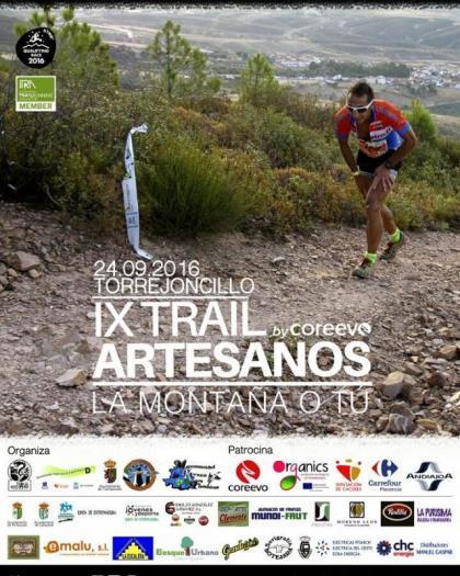 Un total de 330 participantes se dará cita este sábado en el IX Trail Artesanos de Torrejoncillo