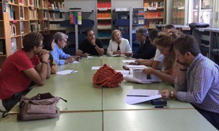 La delegada provincial de Educación visita el IES Jálama de Moraleja con motivo de su ampliación