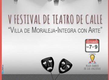 "Moraleja acogerá este fin de semana el V Festival de Teatro de Calle ""Villa de Moraleja-Integra con Arte"""