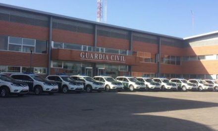 La Comandancia de la Guardia Civil de Cáceres cuenta con 11 vehículos nuevos