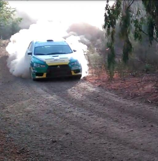 Alexander Villanueva y Óscar Sánchez se imponen en VII Rallye de Tierra Norte de Extremadura