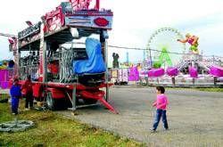El Día del Niño y la Muestra de Artesanía abren cinco días de feria de San Fernando 2008 en Cáceres