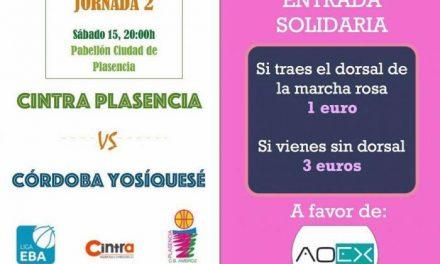 El Cintra Plasencia jugará este sábado un partido a favor de la Asociación  Oncología de Extremadura