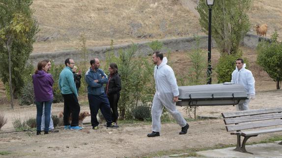 Hallado un cadáver en avanzado estado de descomposición en el parque Los Monjes de Plasencia