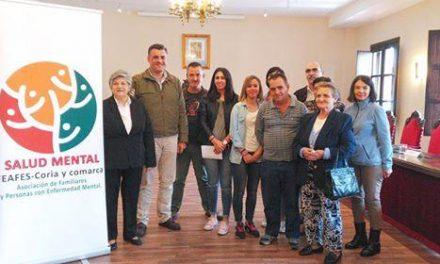 FEAFES Coria continúa trabajando para lograr la inclusión de las personas con enfermedades mentales