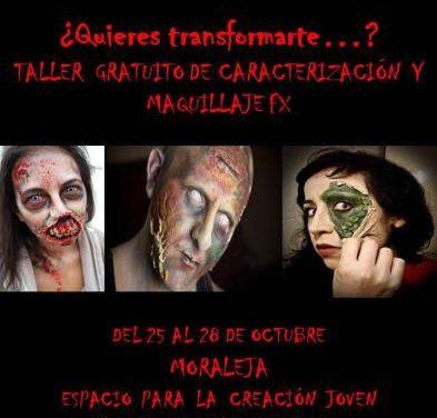 Los jóvenes de Moraleja podrán adquirir técnicas de maquillaje de Halloween con un taller en el Espacio Joven