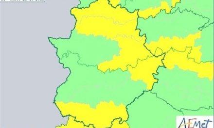 El 112 declara alerta amarilla por lluvias para este sábado en la zona norte de Cáceres, Tajo y Alagón