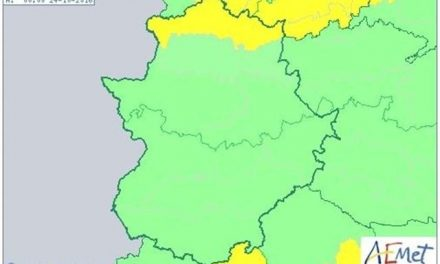 El Centro 112 declara la alerta amarilla este domingo por lluvias en la zona norte de Cáceres