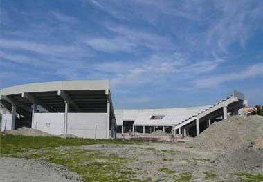 El edificio multiusos de Navalmoral tendrá un coso taurino desmontable y se inaugurará este sábado