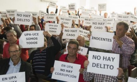"""Los afiliados de UPA-UCE piden la """"liberación inmediata"""" de los dirigentes detenidos por el caso """"Tellus"""""""