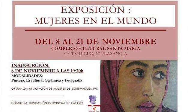 Plasencia acogerá hasta el día 21 una exposción que refleja la figura de la mujer en diferentes países