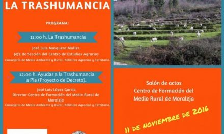 Moraleja acogerá una jornadas informativas sobre la Trashumancia destinada a ganaderos de la zona
