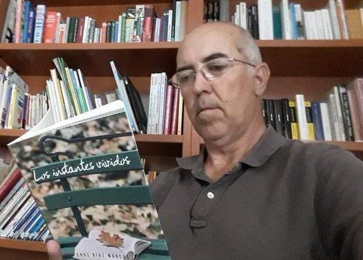 """El escritor casillano, Cruz Díaz, presentará este miércoles el poemario """"Los instantes vividos"""" en Cáceres"""