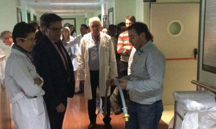 Vergeles destaca las mejoras realizadas en el Área de Salud de Plasencia en su visita al hospital