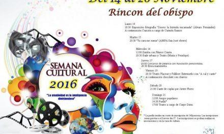 Rincón del Obispo inaugura este lunes la Semana Cultural con una fusión de fotografía y música