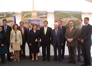 La planta fotovoltaica de Llerena es una de las más innovadores de Europa con tres tecnologías diferentes