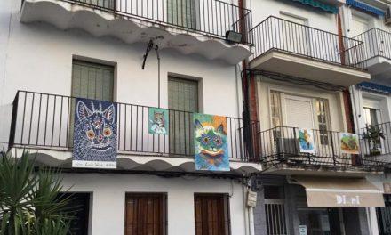 """La Plaza de los Toros de Moraleja acoge la exposición """"Wain en Sierra de Gata"""" del artista Ángel Hernández"""