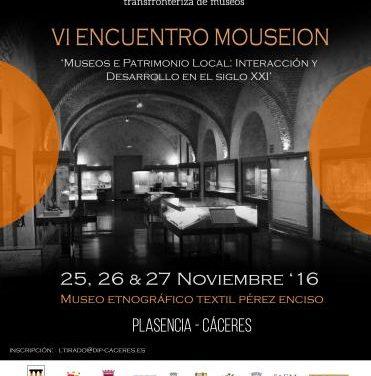 El Museo Pérez Enciso de Plasencia acogerá del 25 al 27 un encuentro de museos de España y Portugal