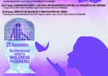 Coria celebrará el Día Contra la Violencia de Género con actos institucionales y juegos infantiles