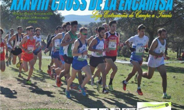 El XXXVIII Cross de la Encamisá reunirá este domingo a unos 600 corredores en Torrejoncillo