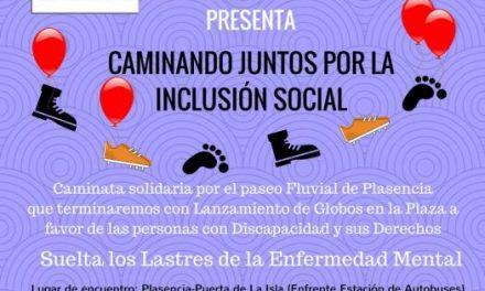 Plasencia acogerá este viernes un caminata solidaria a favor de las personas discapacitadas