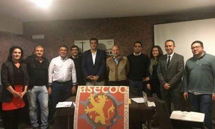 El empresario cauriense Jerónimo Sanguilinda continuará al frete de ASECOC otros cuatro años