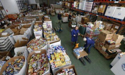 El Banco de Alimentos contabiliza hasta ahora más de 40.000 kilogramos de alimentos