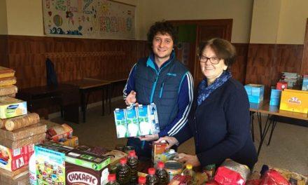 Cáritas de Plasencia repartirá más de 3.000 kilogramos de alimentos entre las familias más necesitadas