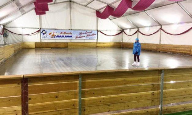Plasencia en Común solicita al consistorio que se reparen los desperfectos ocasionados por la pista de hielo