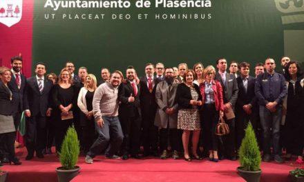 Los galardonados con el premio San Fulgencio de Plasencia agradecen el reconocimiento