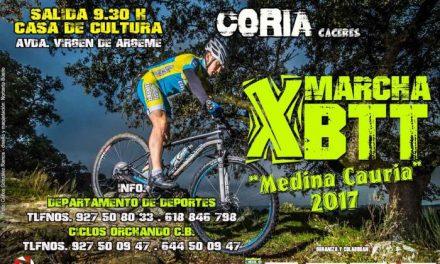 """La X Marcha BTT """"Medina Cauria"""" cuenta con 300 inscritos a falta de una semana para su celebración"""
