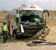 Un testigo asegura en el juicio que el autobús siniestrado «salió volando» por «exceso de velocidad»