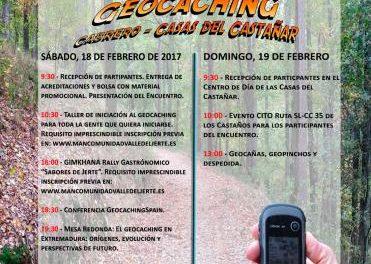El Valle del Jerte acogerá los días 18 y 19 de febrero el primer encuentro de Geocaching