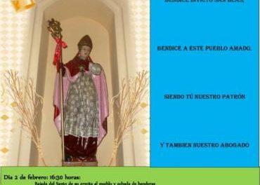 Casillas de Coria celebrará las fiestas en honor a San Blas con citas religiosas y música de tamboril