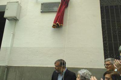 La familia Sánchez-Ocaña se siente orgullosa del homenaje realizado por el consistorio placentino
