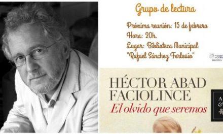 """El club de lectura de Coria acogerá el próximo día 15 la presentación del libro """"El olvido que seremos"""""""