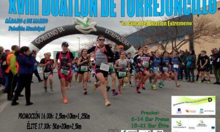 Torrejoncillo espera contar con 150 participantes en la XVIII  Duatlón el próximo 4 de marzo
