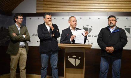 El TSJEX anula el nombramiento de cuatro cargos directivos de la Diputación de Cáceres