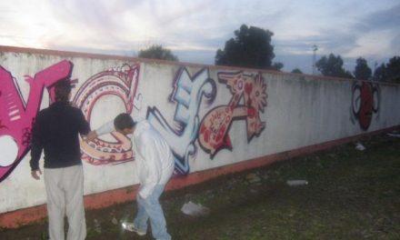 El Ayuntamiento de Badajoz anuncia multas de hasta 1.500 euros a los que realicen grafitis ilegales en la ciudad