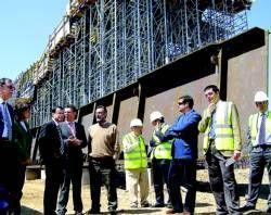 La obra del nuevo puente de Villanueva de la Serena estará finalizada en el mes de abril del año que viene