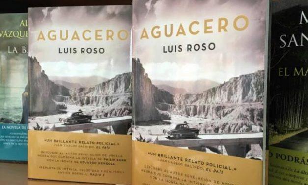 El moralejano Luis Roso presentará su novela Aguacero el próximo día 17 en la biblioteca de Coria