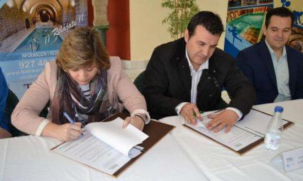 La Junta y el Balneario de Baños de Montemayor colaborarán en beneficio del deporte extremeño