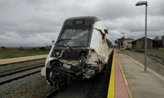 Los siete heridos en el accidente de tren de Oropesa reciben el alta médica del hospital de Navalmoral