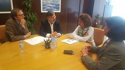 El primer edil placentino se reúne con la consejera de Hacienda para mejorar la financiación de la ciudad