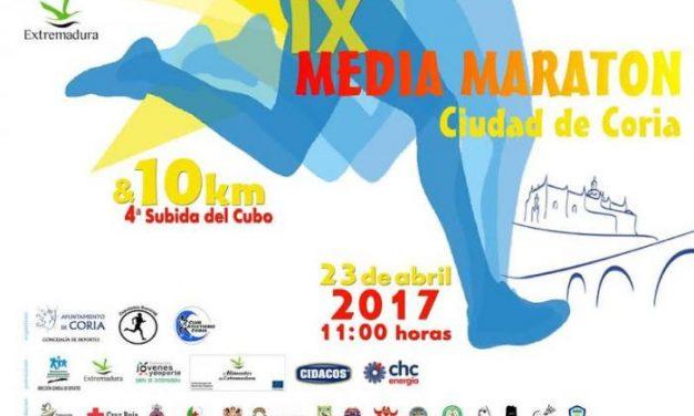 La IX Media Maratón Ciudad de Coria se celebrará en el mes de abril y contará con grandes novedades